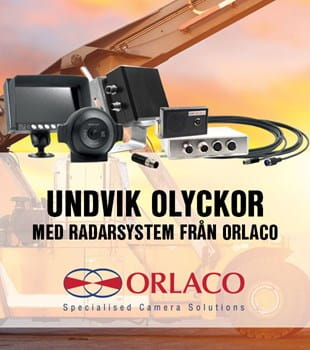Orlaco single radar eye