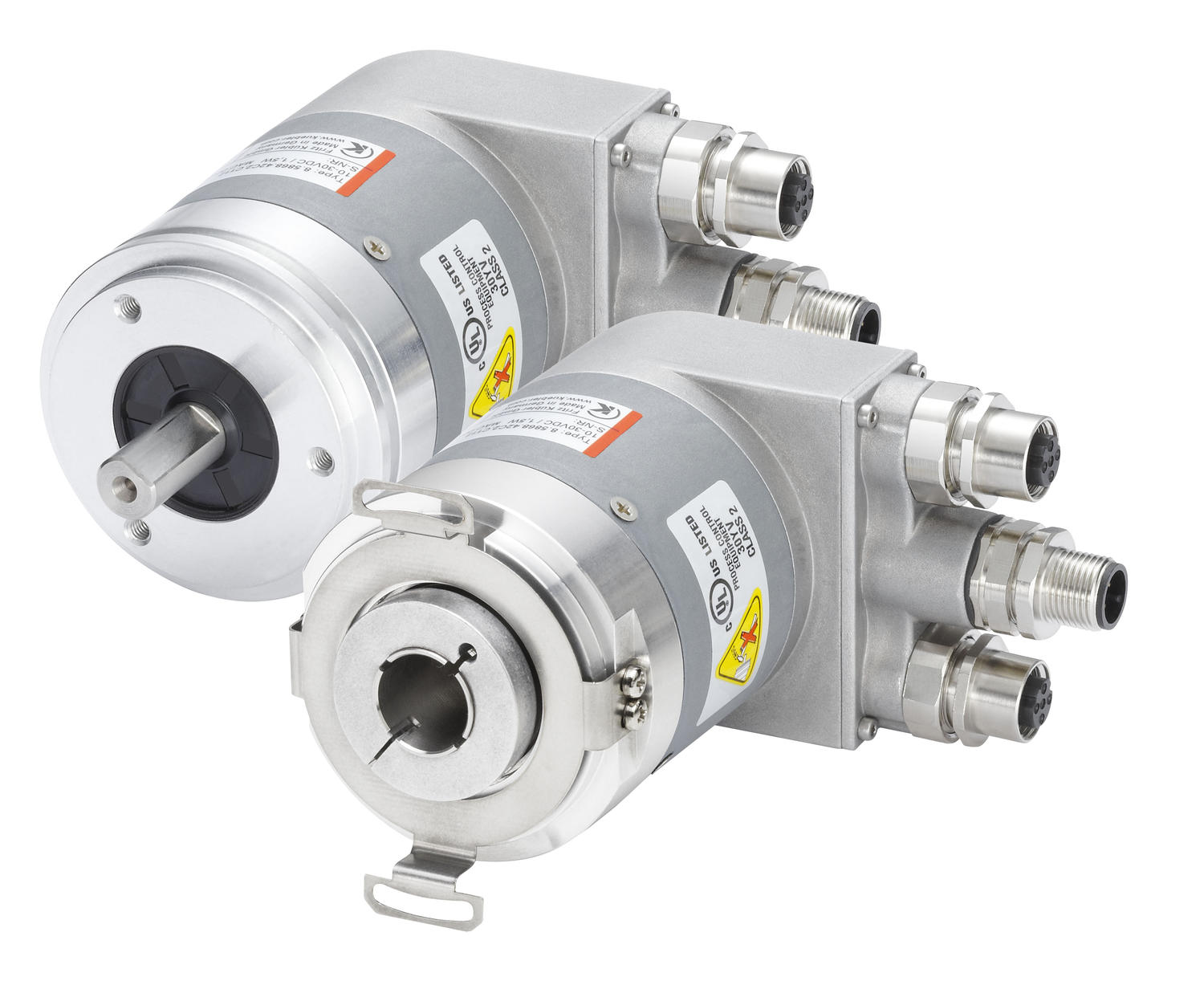 Absolutkodad vinkelgivare Sendix 5858/5878, optisk, ProfiNet, Ø58 mm
