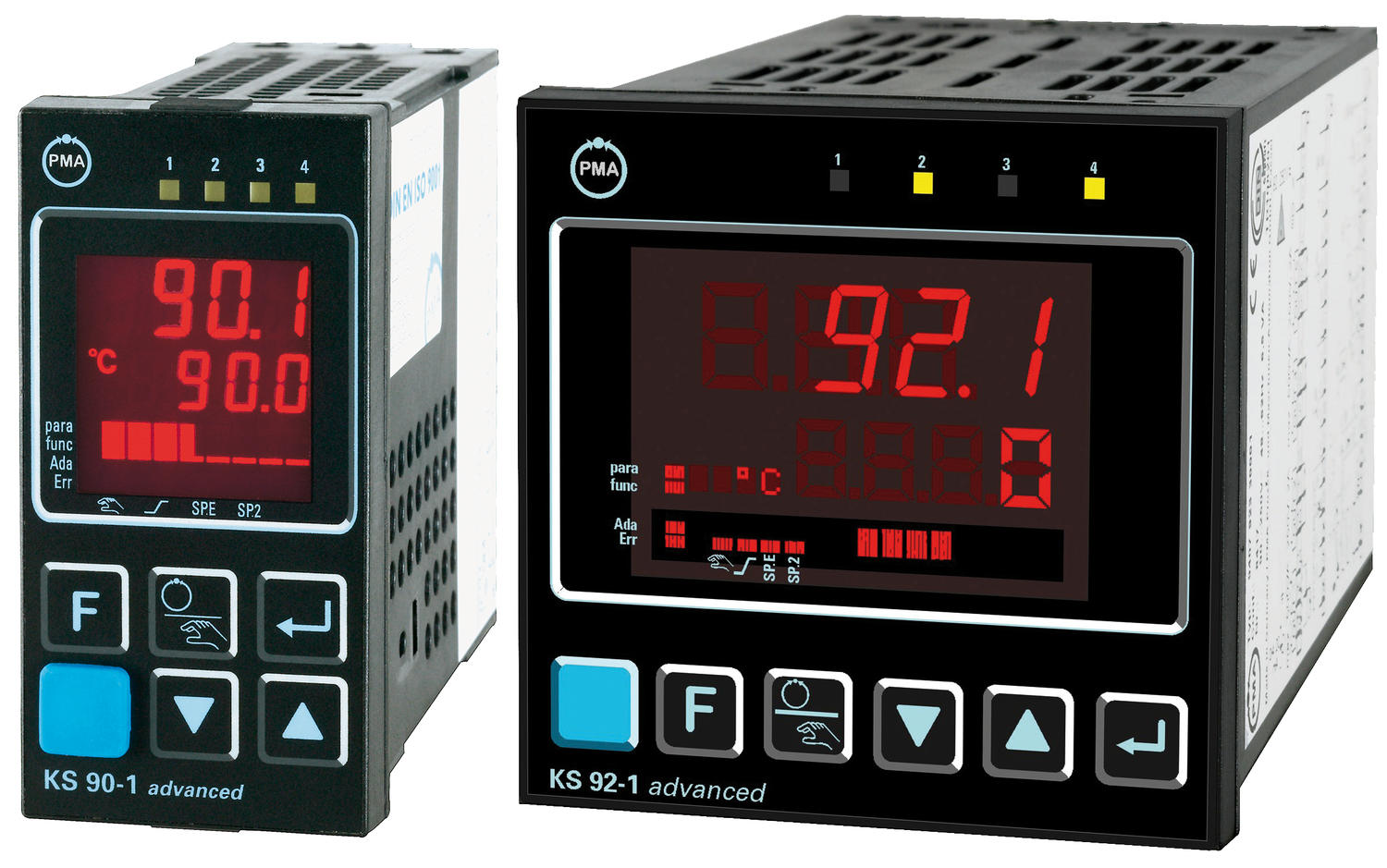 Temperatur- och processregulator KS90-1 / 92-1